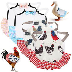 Hen Saddle Clothes Pet Feather Protector Gardening supplies Chicken Saddles