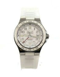 Breitling Superocean Gmt Stainless Steel Watch A32380