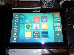 Simrad Nss12 Evo2 Chartplotter And Multifunction Display With Sun Cover