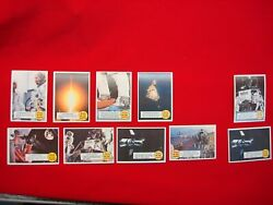 1969 Topps - Man On The Moon - Apollo Space Program - 10 Cards/9 Diff.