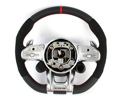 Mercedes-benz Amg Performance Steering Wheel Mopf Black Red A0004608613 3d27