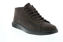 Camper Bill K300275 001 Mens Brown Suede Lace Up Euro Sneakers Shoes 7 $36.99
