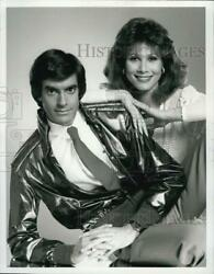 1985 Press Photo Actor David Copperfield And Michele Lee In The Magic Of David