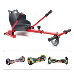 New Hover Kart Go Karts Cart Racing Seat For Two Wheel Balance Electric Scooter