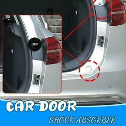 4pc Car Door Shock-absorbing And Silent Gasket With Car Logo General Closing New