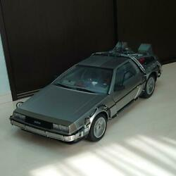 Beautiful Back To The Future Delorean Time Machine 1/6 Collectible Car Japan