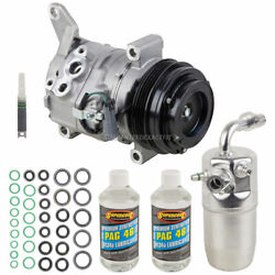 For Chevy Avalanche 2013 2012 2011 Oem Ac Compressor W/ A/c Repair Kit Dac