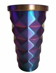 Starbucks Purple Pineapple Iridescent Tumbler/cold Cup -rare With Tag 16oz