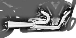 Combat 2 Into 1 Full Exhaust Freedom Performance My00135 09-17 V-star 950