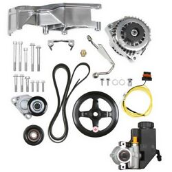 Holley 20-156p Gm Ls Alternator And Power Steering Accessory Drive Kit Gm Ls-serie