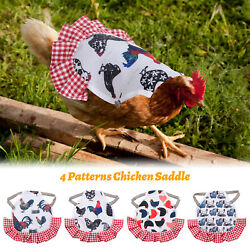 Gardening supplies Wings Clothes Chicken Saddles Hens Pet Feather Protector