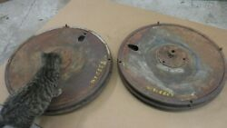Antique Car Chevy Ford Disk Wheels Mt-6869