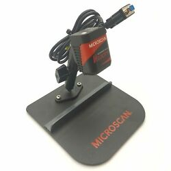 Microscan Fis-6300-3006g Fixed Bar Code Scanner 2d Q-mode Rs-232 5vdc W/stand