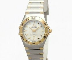 Green Shop Pawn Price Down Omega Constellation Mini Shell Dial 1362.70