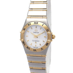Green Shop Pawn Omega Constellation Mini Full Bar Shell Dial 1262.70 Secondhand