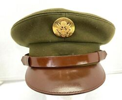 Vintage Us Army Enlisted Dress Hat