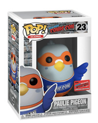 Funko Pop Icons Paulie Pigeon Blue Shirt Nycc Official Sticker Exclusive 23