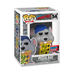 Funko Pop Icons Pizza Rat Blue Beanie Fall Convention Exclusive 54