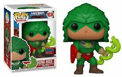 Funko Pop Masters Of The Universe King Hiss Nycc Official Sticker Exclusive