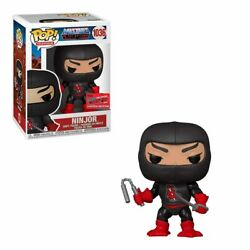 Funko Pop Masters Of The Universe Ninjor Nycc Official Sticker Exclusive 103