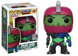 Funko Pop Masters Of The Universe Trap Jaw Specialty Series Exclusive 487