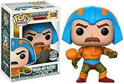 Funko Pop Masters Of The Universe Man At Arms Specialty Series Exclusive 538