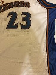 Michael Jordan Vintage Authentic Certified Wizards Jersey Size 56/3xl 23 -nwt