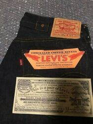 Made In The U.s. Usa Tagged Levi's Vintage Clothing Lvc 1930 Model 501-xxc