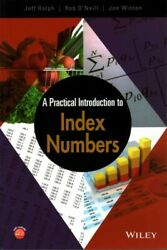 Practical Introduction To Index Numbers Paperback By Ralph Jeff Oand039neill R...