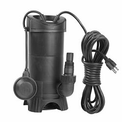 Extraup Submersible Sump Clean Dirty Water Transfer Heavy Duty Drain Plastic