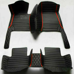 For Lincoln-1995-2022 Luxury Waterproof Front And Rear Liner Custom Car Floor Mats