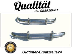 Stainless Steel Bumper Set For Volvo Pv544 Eu Version