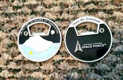 Thule Air Force Base Greenland Most Northern Base Space Force Challenge Coin