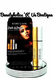 Babe Lash Lush And Luster Kit Essential Serum And Enhancing Conditioner 2+3ml Rp110
