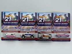 Hot Wheels 21st Annual Collectors Nationals - Atlanta Georgia Set Of 4 Cars With