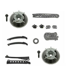 Timing Chain Sprocket Guide Kit Set For 2004-2013 Ford Lincoln 5.4l