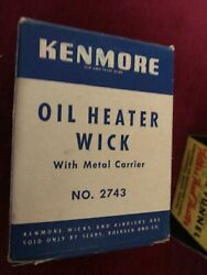 Vintage Antique Kenmore 2743 Heater Wick For Oil Heaters In Box