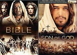 The Bible The History Channel's Epic Miniseries And Son Of God 6 Dvd Collection