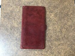 Red Coach Wallet $9.00