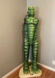 New Creature From The Black Lagoon Life Size Movie Prop 6ft 10in