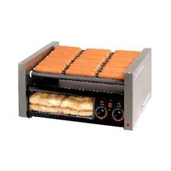 Star - 50scbbc - Grill-max Pro® 50 Hot Dog Roller Grill W/ Clear Door