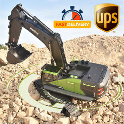 Huina 1593 114 Scale 22 Channel Abs And Metal Alloy Rc Excavator - Ships From Usa