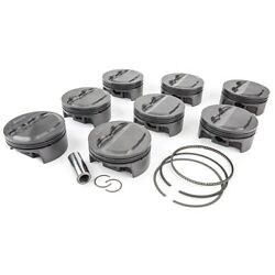 Mahle Motorsports Pistons 930134030 Powerpak Piston And Ring Kit Ford Coyote 5.0l