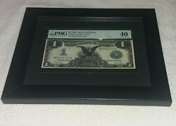 1899 1 Black Eagle Silver Certificate Pmg 40 Extremely Fine Large Note Fr236
