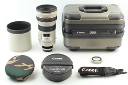 【 Mint+++ W/ Case 】canon Ef300mm F/ 2.8 L Is Usm Telephoto Lens From Japan 651