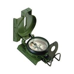 Official Us Military Tritium Lensatic Compass, Accurate Waterproof Olive Drab