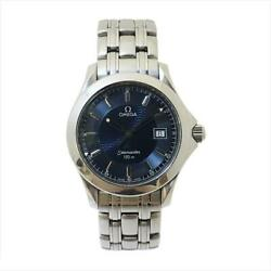 Secondhand Omega Seamaster Quartz Stainless Steel Ss Mens Boys Casual Watches