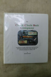 Creek Chub Bait Company Collectorand039s Guide Lures Signed Harold Smith Pre Hc 1993