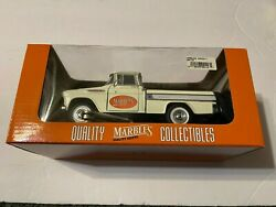 Sunnyside 1957 Chevy Cameo Pickup Truck 128 Diecast White Marbles Knives New