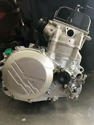 2019 Kx450 Motor With Only 6.4 Hours With Electric Starter